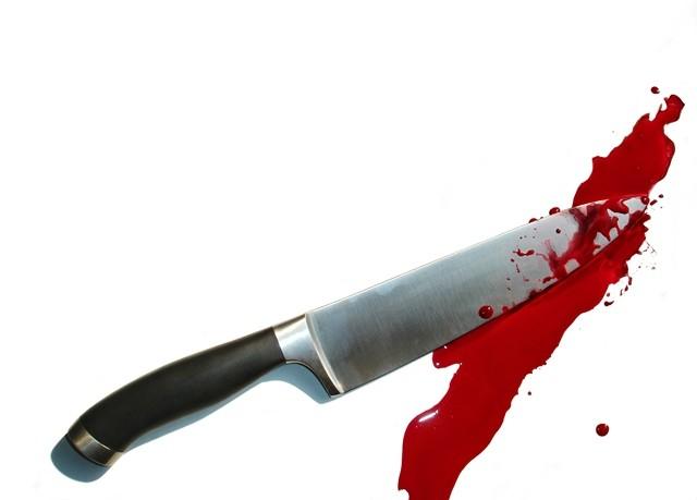 Noz ubistvo krv