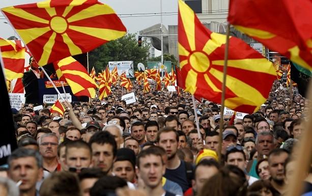 Protest u Skoplju