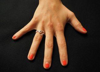Ruka Šaka prsti
