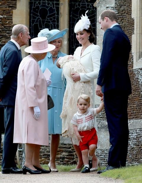 Krštenje princeze Šarlot
