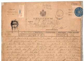 Prvi svetski rat telegram