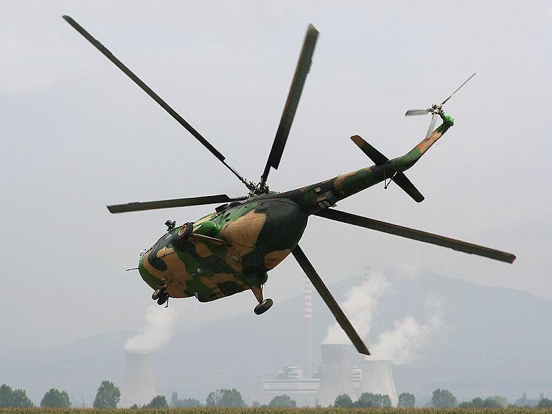 Helikopter MI 17