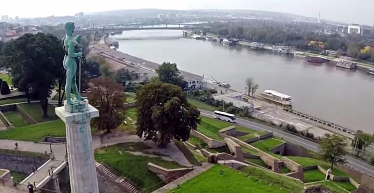 Beograd iz vazduha