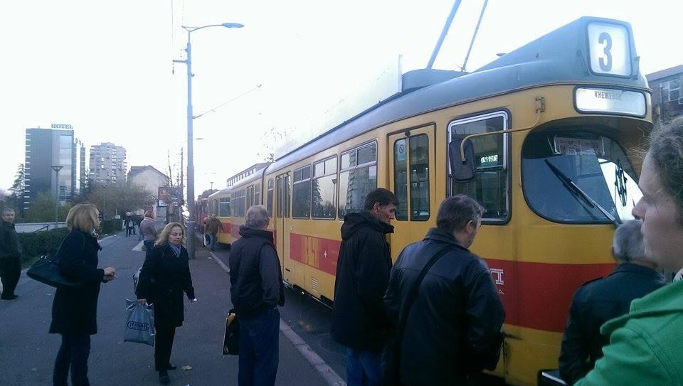 Pokvarili se tramvaji