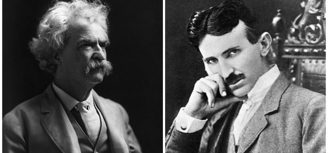 Mark Tven i Nikola Tesla