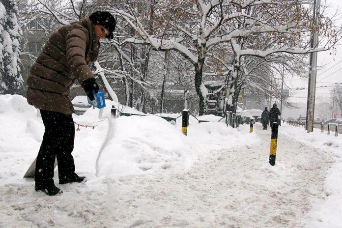 Beograd sneg