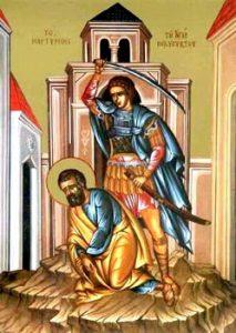 Sveti mučenik Polievkt