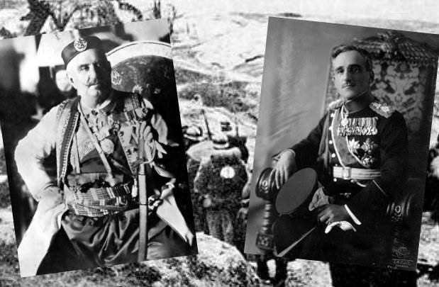 Kralj Nikola i princ Aleksandar