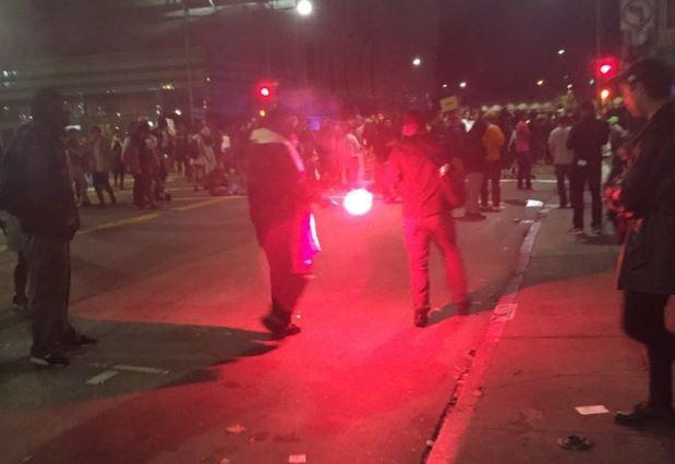 Tramp protesti