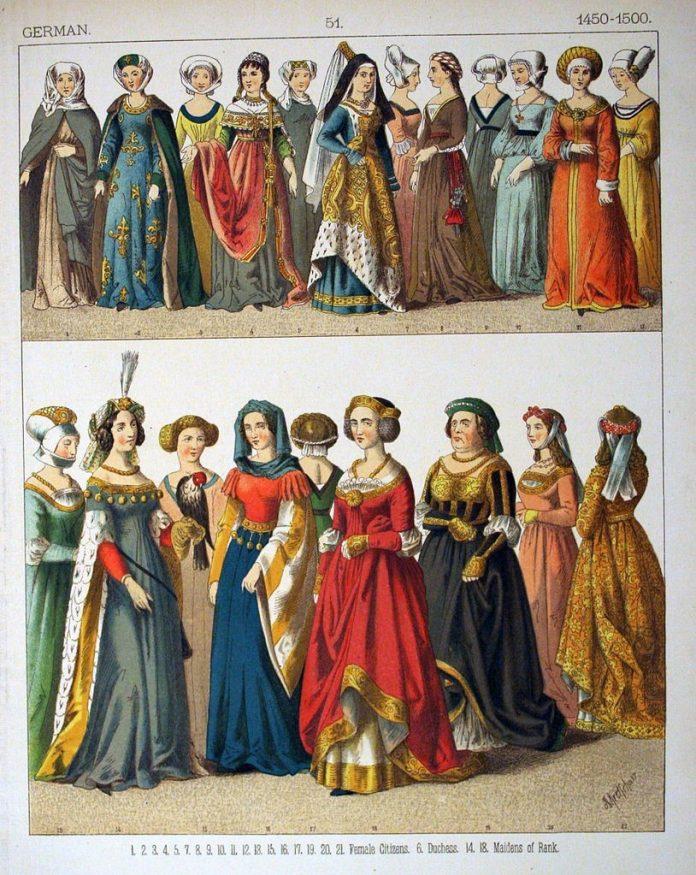 Žene u Nemačkoj u 15. veku