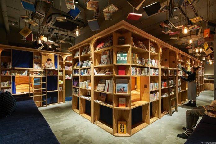 Hostel u Japanu za ljubitelje knjiga