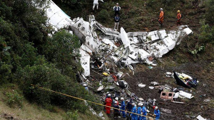 Pad aviona u Kolumbiji