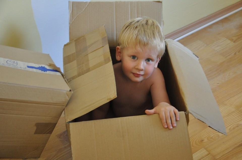 Dete u kutiji