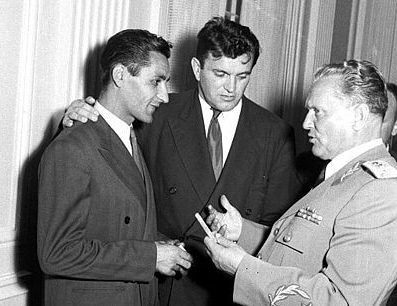 Rajko Mitić i Tito