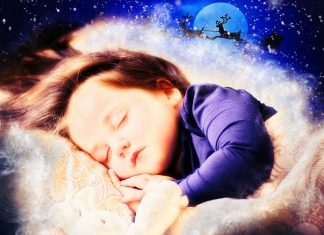 Devojčica sanja