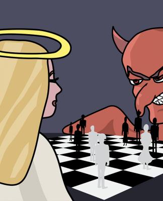 Anđeo i đavo