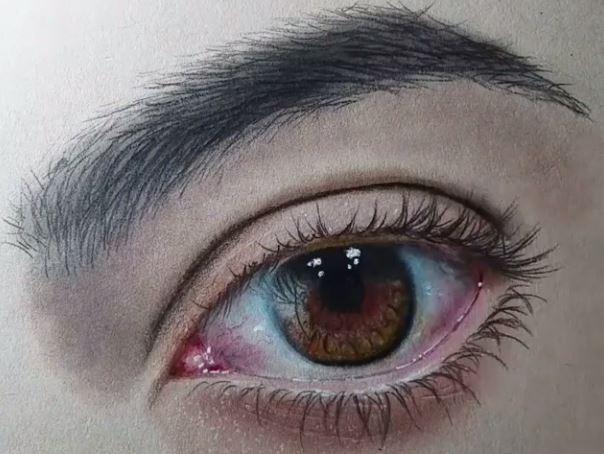 Crtež oka