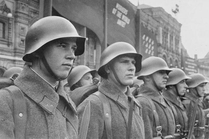 Vojnici Crvene armije