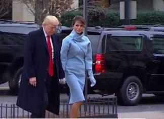 Donald i Melanija