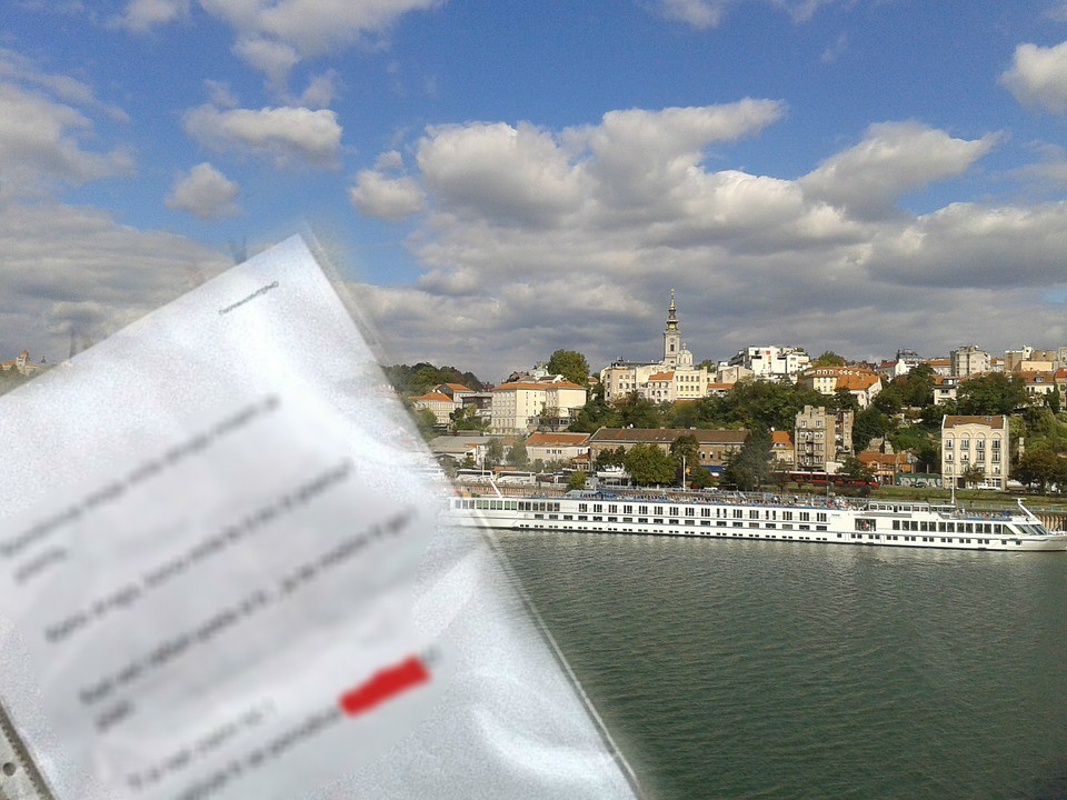 Beograd - poruka