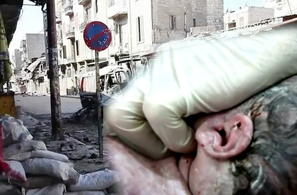 Reanimacija bebe u Siriji