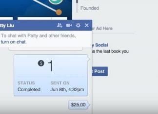 slanje novca preko fejsbuka