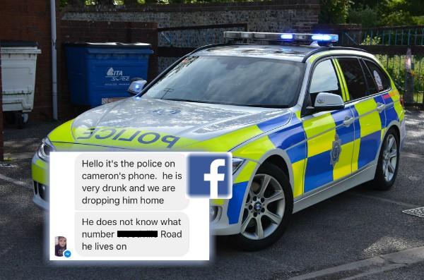 Policija na Fejsbuku