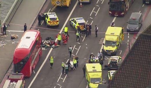 napadi u londonu