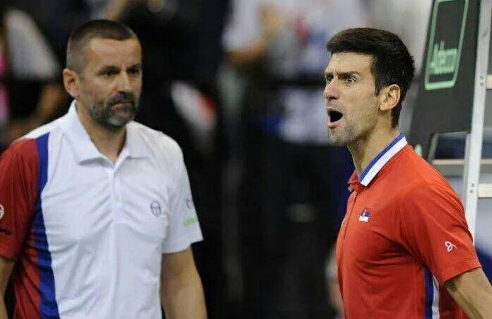 Novak Đoković i Bogdan Obradović