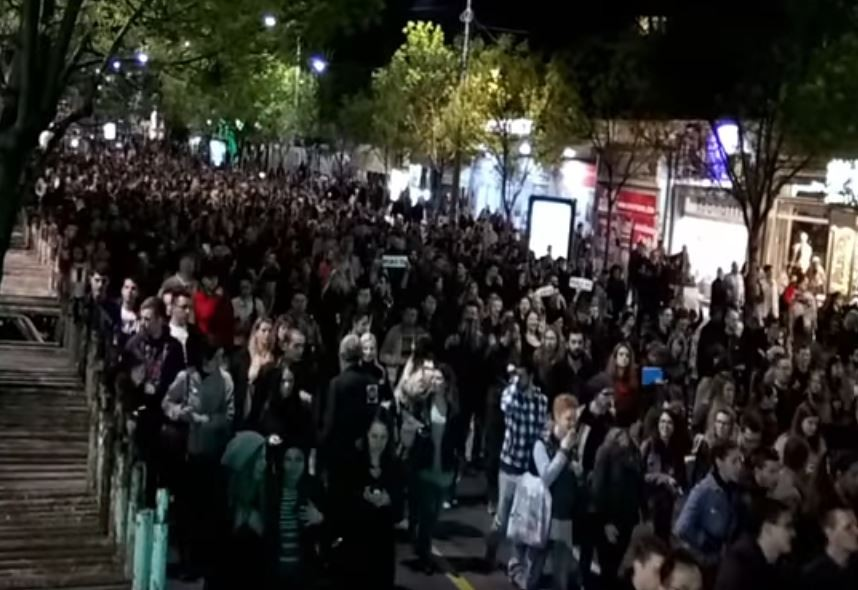 Protest protiv diktature 2017