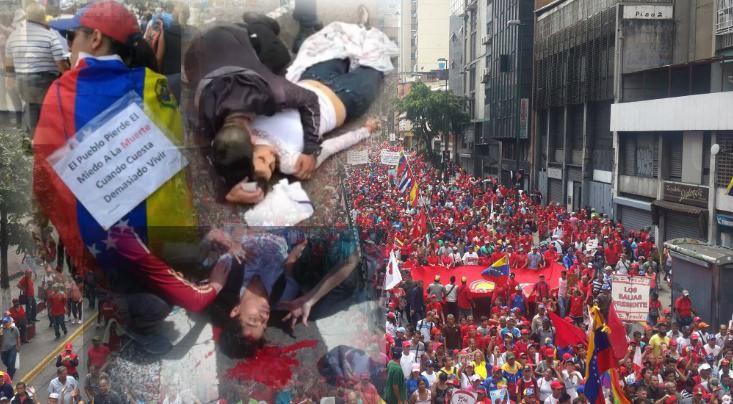 protesti venecuela