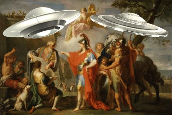 Aleksandar Veliki - vanzemaljci