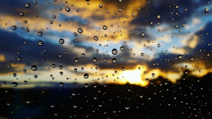 Sunce i kiša