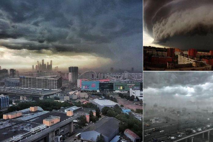 Uragan u Moskvi