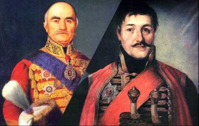 Miloš i Karađorđe
