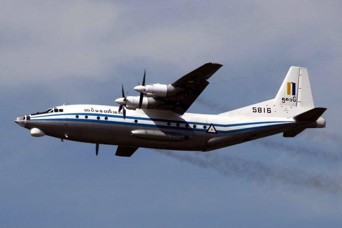 Avion - Mjanmar
