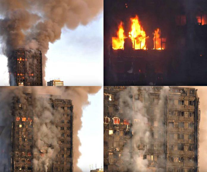 požar u londonu