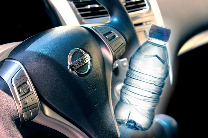 automobil i voda