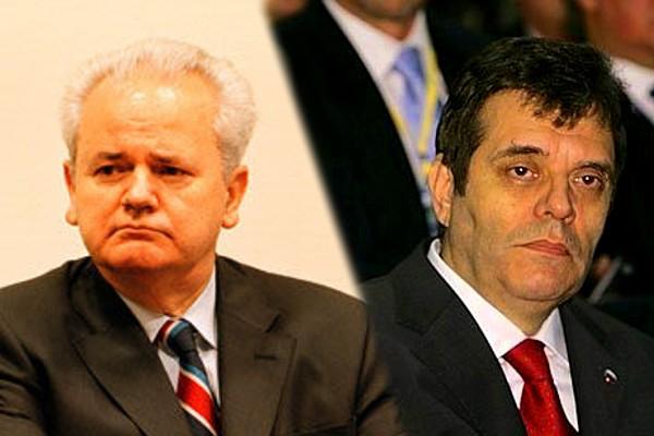 Slobodan Milošević i Vojislav Koštunica