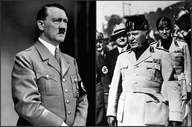 Hitler i Musolini