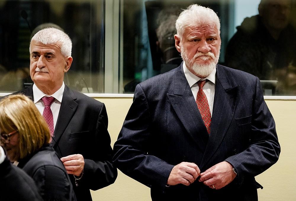 Bruno Stojić i Slobodan Praljak