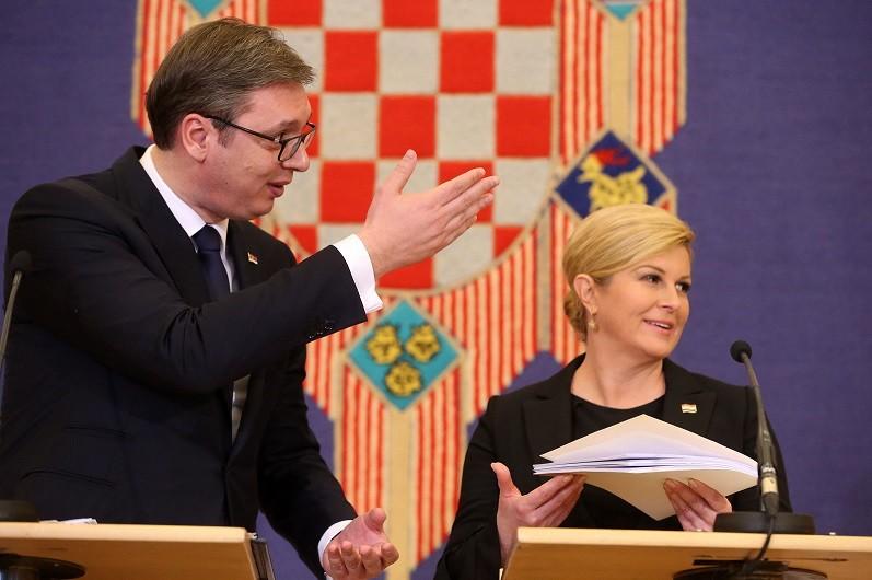 Kolinda i Vučić
