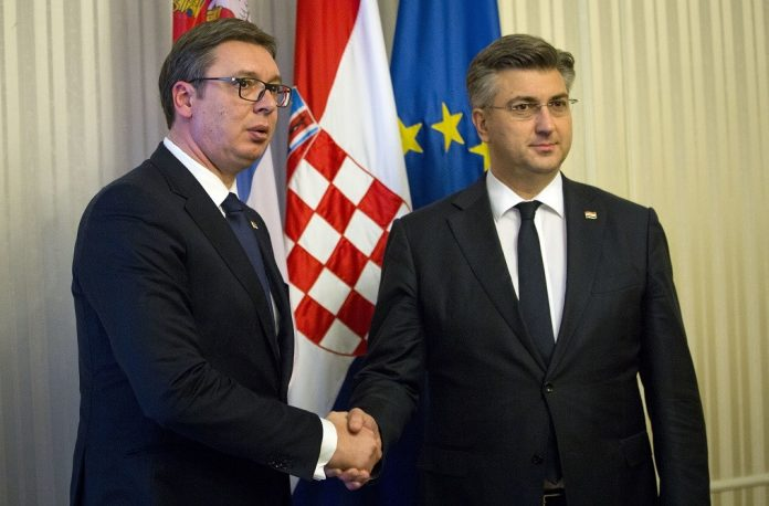 aleksandar vučić andrej plenković