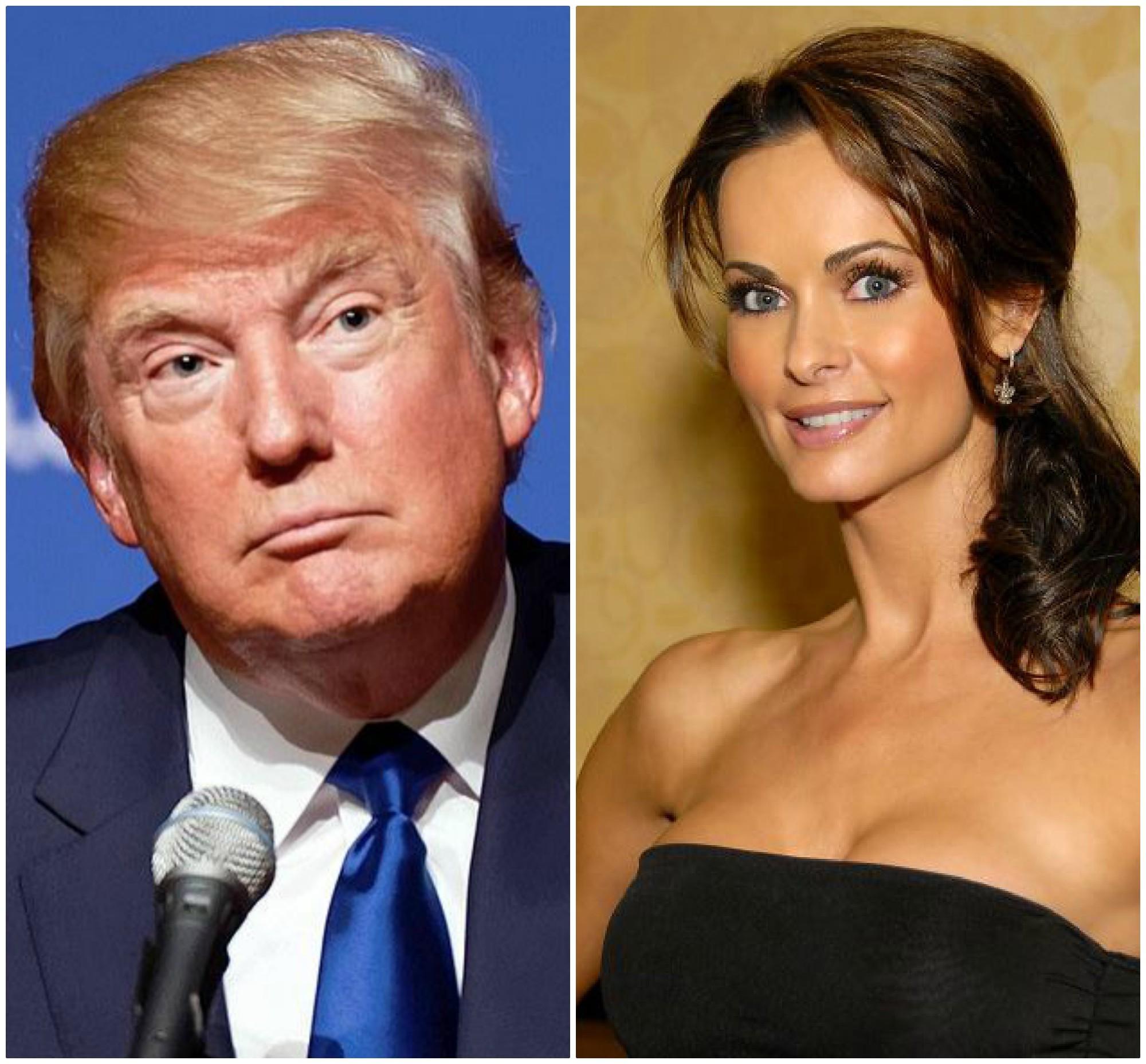 Donald Tramp i Karen Mekdugal