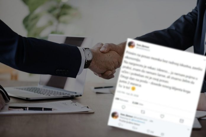 Tvit za posao