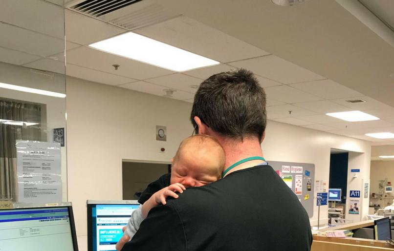 Doktor i beba