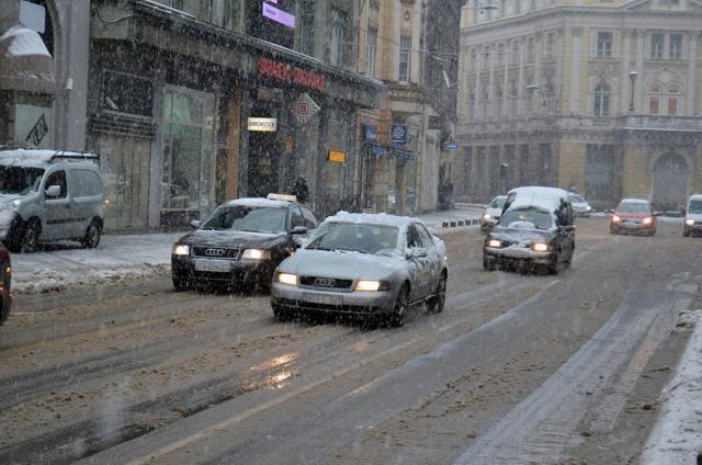 Vreme sneg saobracaj