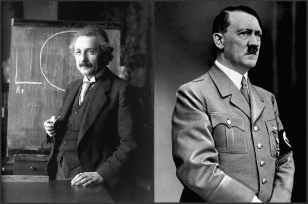Ajnštajn i Hitler