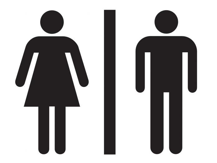 Znak za WC