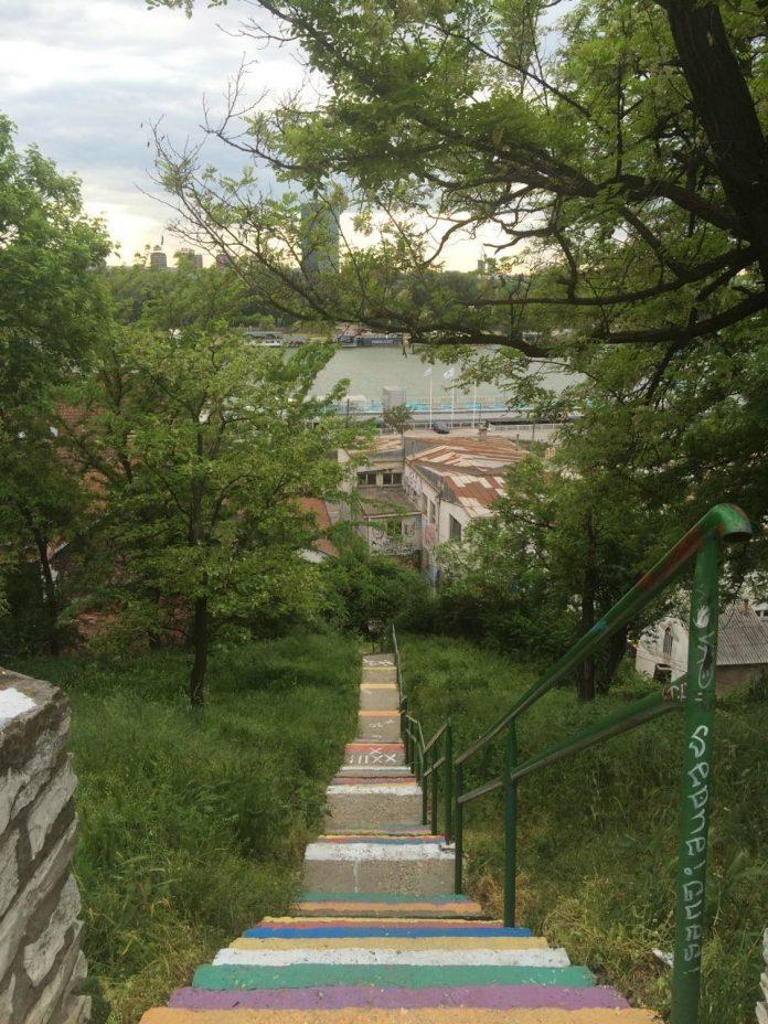 Stepenice Kosancicev venac